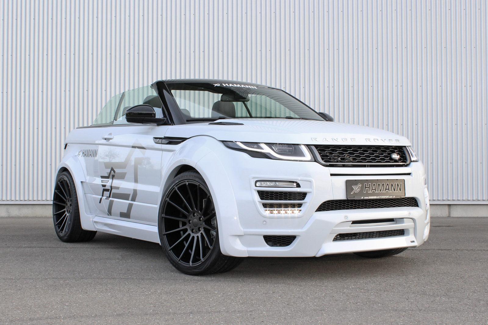 range rover evoque convertible tuning e cerchi in lega. Black Bedroom Furniture Sets. Home Design Ideas